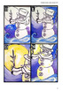 Winter Night : Art Projet : Snowman