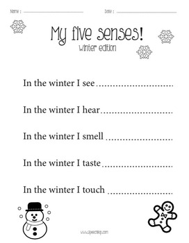 Winter No Prep Math and Literacy Bundle - Kindergarten