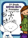 Winter Math Printables -2nd Grade