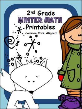 Winter Math Printables -2nd Grade