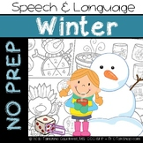 Winter: No Prep Speech and Language