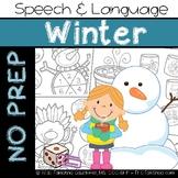 Winter: No Prep Speech and Language