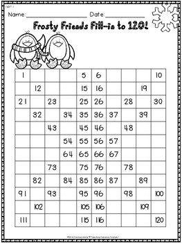 Winter No Time For Prep! First Grade Math Print and Go Pack: 1.OA & 1.NBT