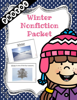 Winter Non-Fiction Packet for Autism and Special Education