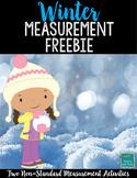 Winter NonStandard Measurement Freebie