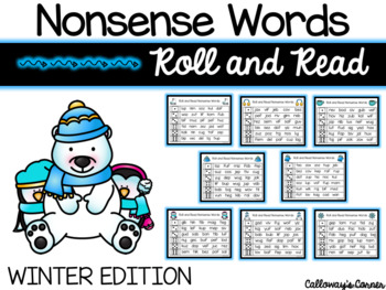 Winter Nonsense Words-EDITABLE POWERPOINT INCLUDED