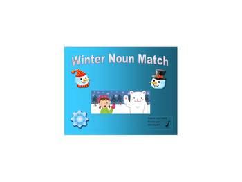 Winter Noun Match