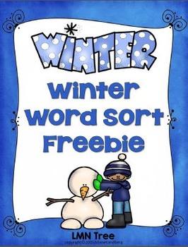 Winter Noun Sort