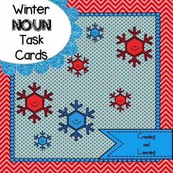 Winter Noun Task Cards