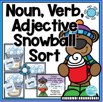 Winter Noun,Verb, Adjective Snowballs