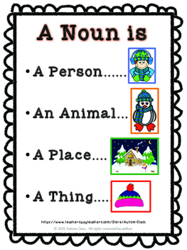 Winter Nouns