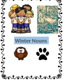 Winter Nouns Activity