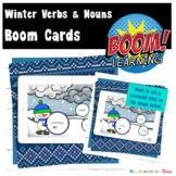 Winter Nouns & Verbs Boom Cards