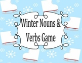 Winter Nouns & Verbs Game- Print, Cut & Ready to Go