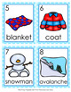 Winter Nouns Write The Room Activity