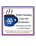 Winter (Nov. to Feb.) Reading Encouragers - Posters, Bookmarks