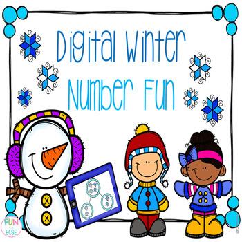 Winter Number Bond Fun