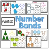 Winter Number Bond Math Mats (Composing and Decomposing Numbers)
