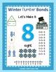 Winter Number Bond Mats 1 thru 10