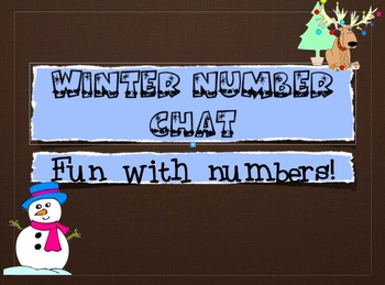 Winter Number Chat