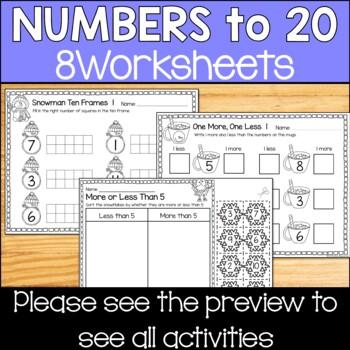 Number Words Recognition Worksheets Mattawa