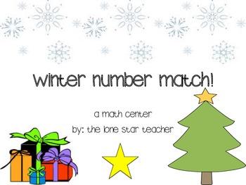 Winter Number Match Center