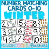 Winter Number Matching Cards (1-10)
