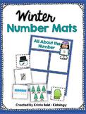 Winter Math Activities - Numbers 1-10