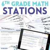 6th Grade Math Stations Bundle