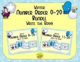 Winter Number Order 0-20 Bundle