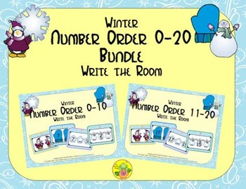 Winter Number Order 0-20 Bundle