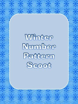 Winter Number Pattern Scoot