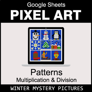Winter - Number Patterns: Multiplication & Division - Google Sheets