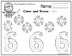 Winter Number Practice for Toddlers