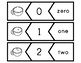 Winter Number Puzzles 0-20