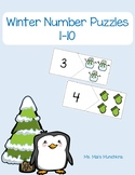 Winter Number Puzzles 1-10