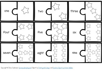 Winter Number Puzzles {1-9}