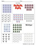 Winter Number Quantity 10-20
