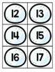 Winter Number Recognition Center or Whole Group Math Game