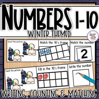 Count And Write Numbers 1-10 Teaching Resources | Teachers Pay Teachers