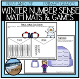Winter Number Sense Activites and Dice Games