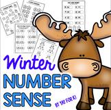 Winter Number Sense Worksheets