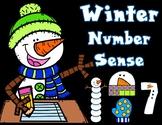 Winter Number Sense 1-20