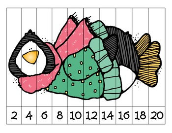 Winter Number Sequence Puzzles