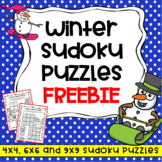Winter Activities: Free Winter Puzzles – No Prep Sudoku