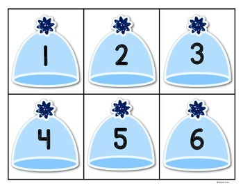 Winter Numbers 1-10: I can show numbers in Snowy ways.
