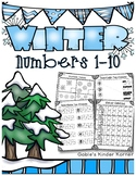 Winter Numbers 1-10 *Print-N-Go!*