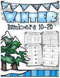 Winter Numbers 10-20 *Print-N-Go!*