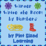 Winter Numbers-Write the Room