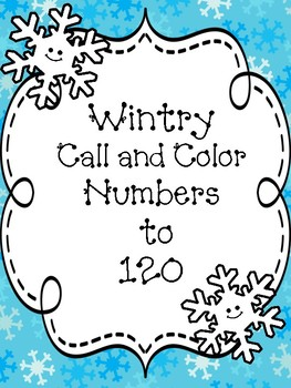 Winter Numbers to 120 Five Pack